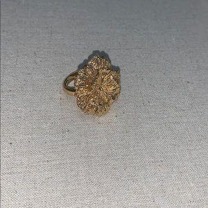 Stella and Dot Geneva Lace Flower Ring